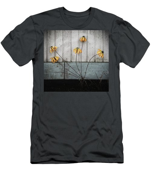 Fake Wilted Flowers Men's T-Shirt (Athletic Fit)