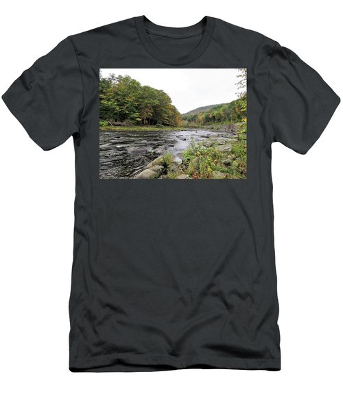 Fall In The Beaverkill Valley Men's T-Shirt (Athletic Fit)