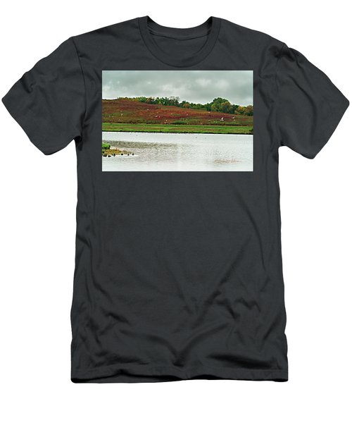 Men's T-Shirt (Athletic Fit) featuring the photograph Fall Migration by Edward Peterson