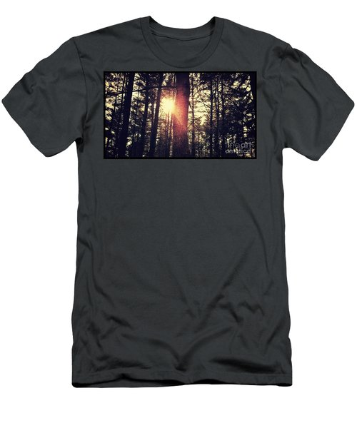 Fall Of Light Men's T-Shirt (Athletic Fit)