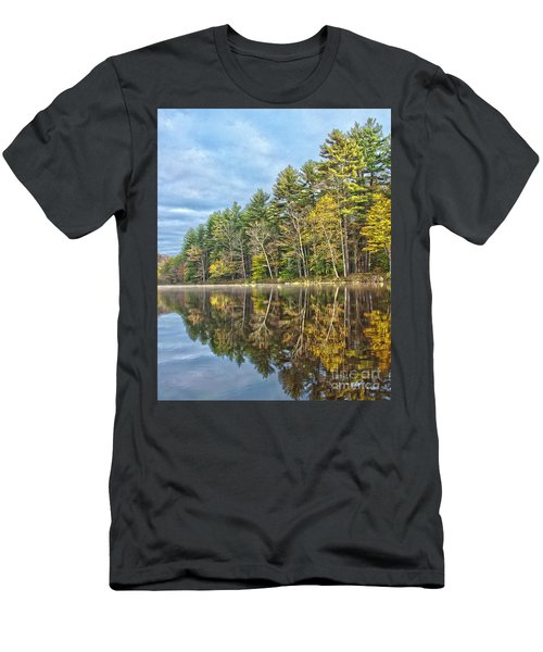 Fall Reflection Men's T-Shirt (Athletic Fit)