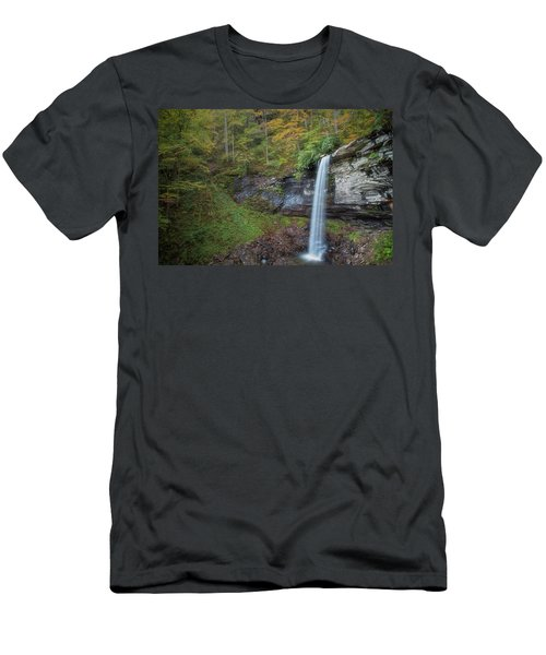 Men's T-Shirt (Athletic Fit) featuring the photograph Falls Of Hills Creek by Russell Pugh