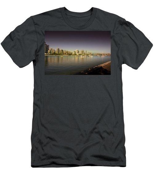 False Creek Golden Hour Men's T-Shirt (Athletic Fit)