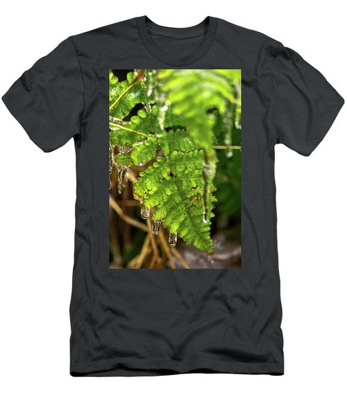 Men's T-Shirt (Athletic Fit) featuring the photograph Fernsickle by Meta Gatschenberger