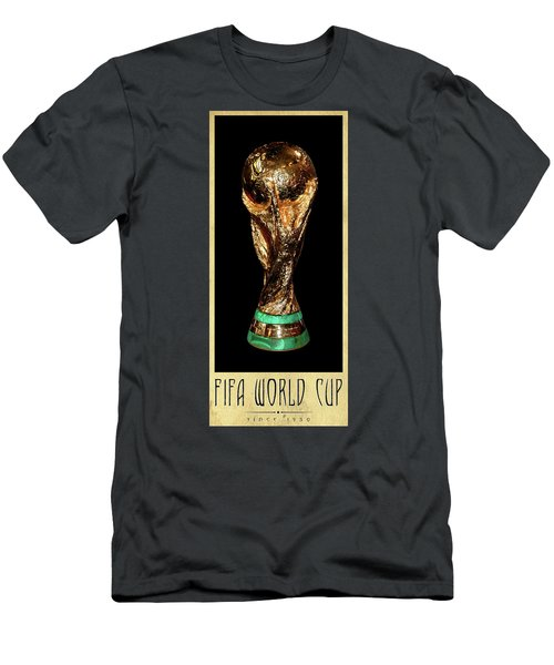 Fifa World Cup Trophy Men's T-Shirt (Athletic Fit)