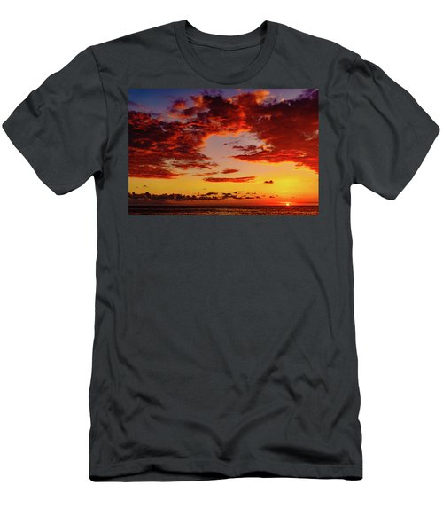 First November Sunset Men's T-Shirt (Athletic Fit)