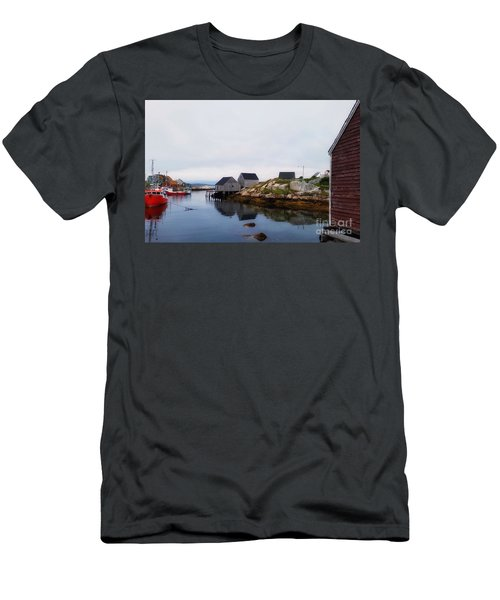 Fish Shacks  Men's T-Shirt (Athletic Fit)
