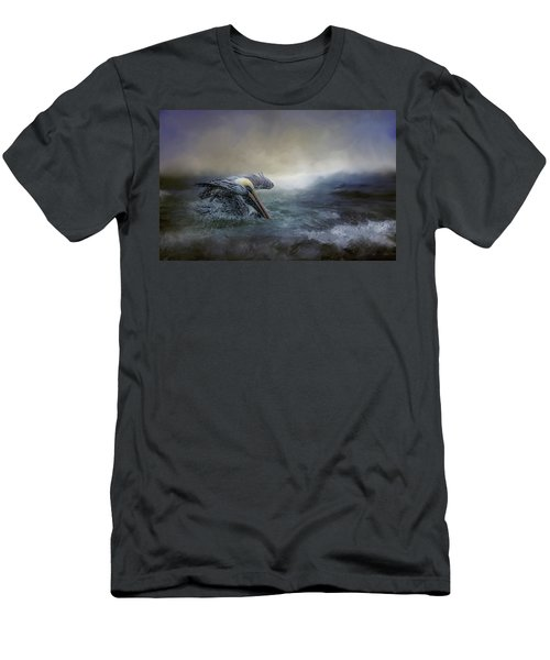 Fishing In The Storm Men's T-Shirt (Athletic Fit)