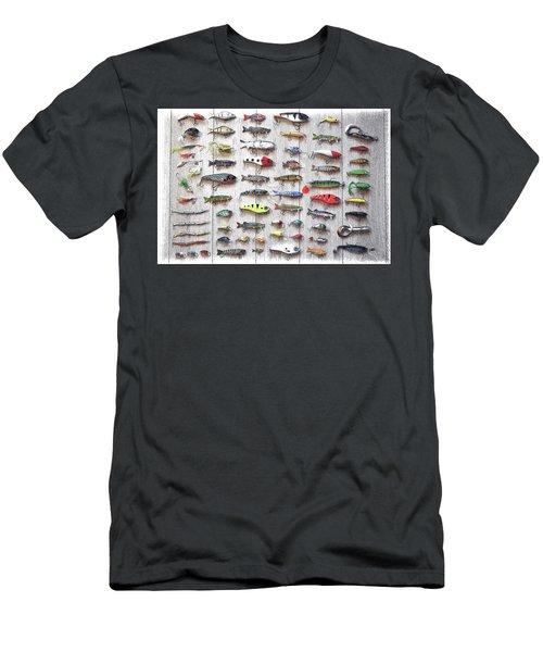 Fishing Lures - Dwp2669219 Men's T-Shirt (Athletic Fit)