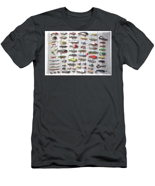 Fishing Lures - Dwp2669219 Men's T-Shirt (Athletic Fit)