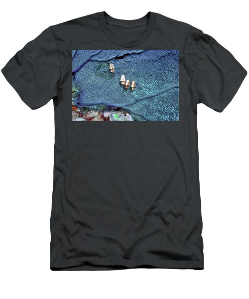 Flamingo Feast Men's T-Shirt (Athletic Fit)