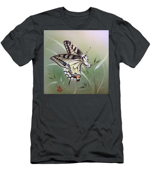 Fleeting Beauty.  Swallowtail Men's T-Shirt (Athletic Fit)