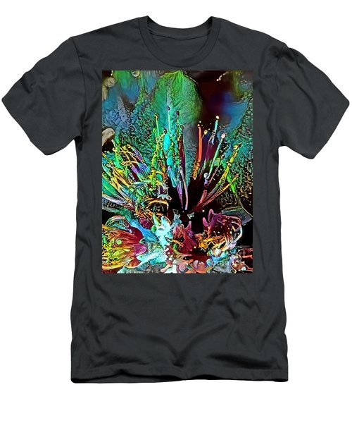Floral Fantasy #1 Men's T-Shirt (Athletic Fit)