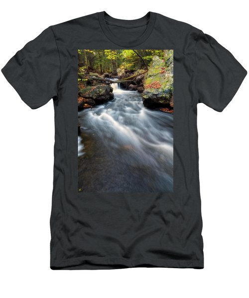 Men's T-Shirt (Athletic Fit) featuring the photograph Flow by Russell Pugh