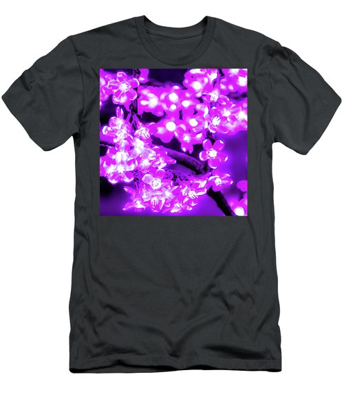 Flower Lights 2 Men's T-Shirt (Athletic Fit)