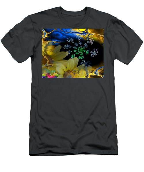 Flower Power In The Modern Age Men's T-Shirt (Athletic Fit)