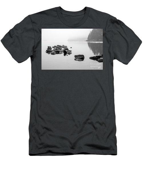 Foggy St. Croix Men's T-Shirt (Athletic Fit)