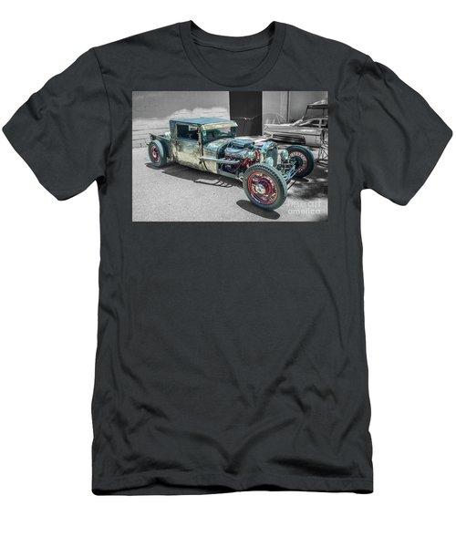 Ford Rat Rod Men's T-Shirt (Athletic Fit)
