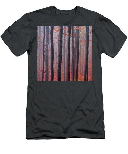 Forest Barcode Men's T-Shirt (Athletic Fit)