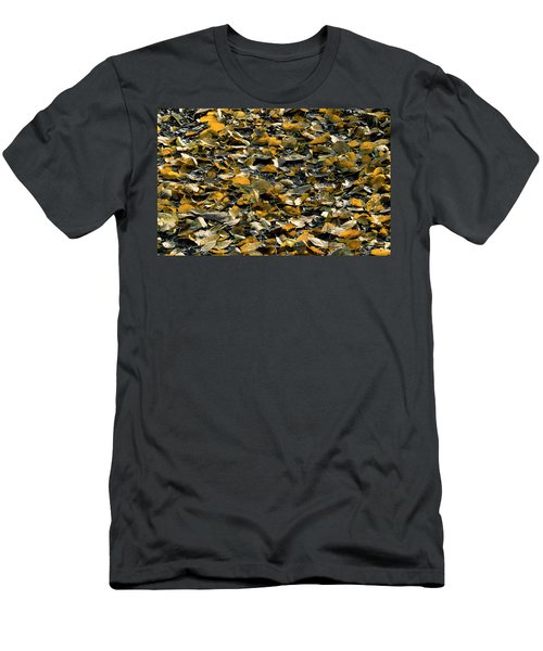 Men's T-Shirt (Athletic Fit) featuring the photograph Forest Floor by Edward Peterson