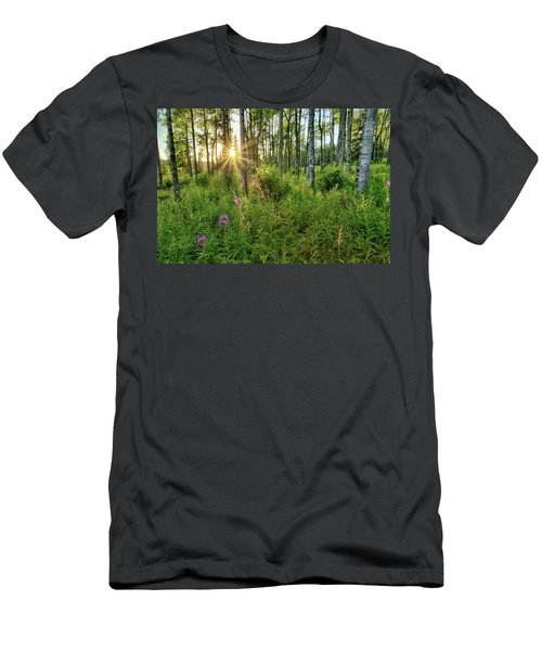 Forest Growth Alaska Men's T-Shirt (Athletic Fit)