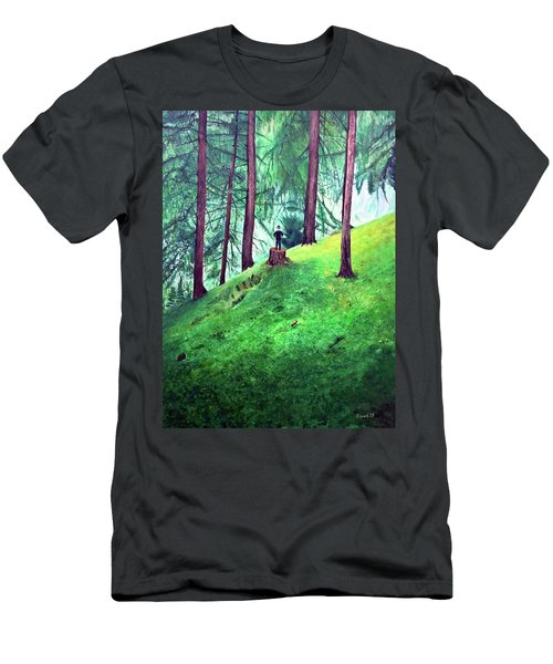 Forest Through The Trees Men's T-Shirt (Athletic Fit)