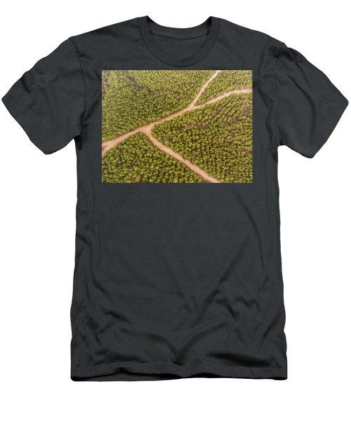 Fork Men's T-Shirt (Athletic Fit)