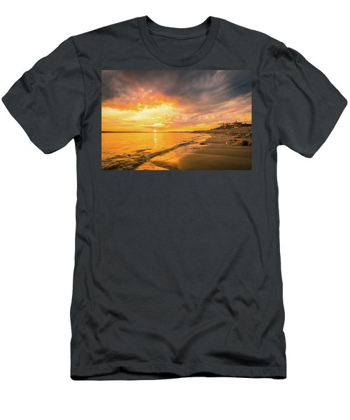Fort Foster Sunset Watchers Club Men's T-Shirt (Athletic Fit)