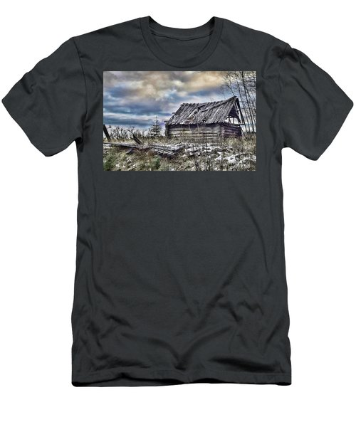 Four Winds Hotel Men's T-Shirt (Athletic Fit)