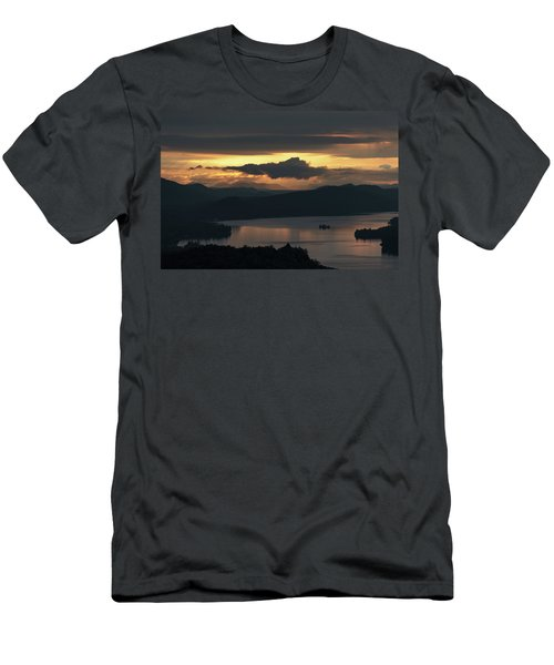 Fourth Lake First Light Men's T-Shirt (Athletic Fit)