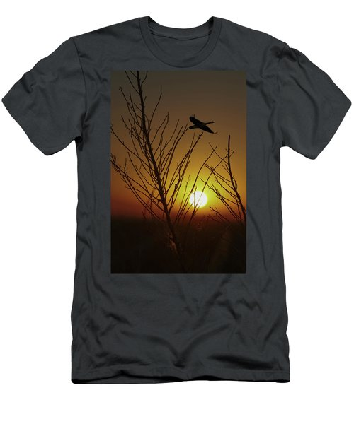 Fowl Morning Men's T-Shirt (Athletic Fit)