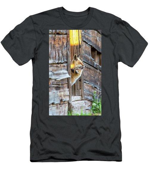 Fox Test  Men's T-Shirt (Athletic Fit)