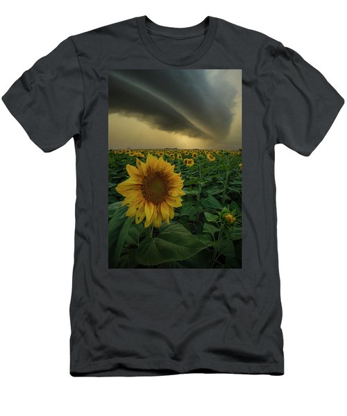 Men's T-Shirt (Athletic Fit) featuring the photograph Frailty  by Aaron J Groen
