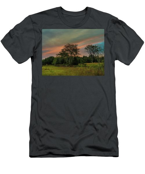 Pine Lands In Friendship Sunrise Men's T-Shirt (Athletic Fit)