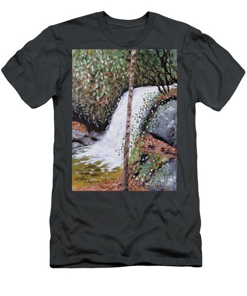 Frolictown Falls Men's T-Shirt (Athletic Fit)