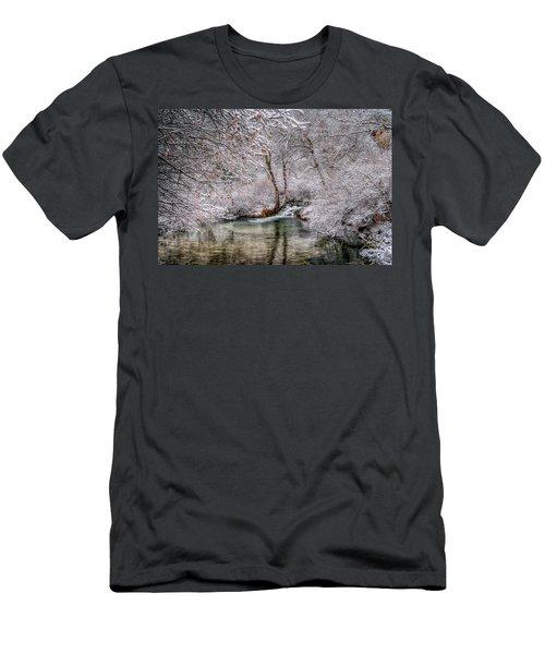 Frosty Pond Men's T-Shirt (Athletic Fit)