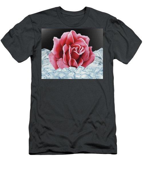 Frozen Rose Men's T-Shirt (Athletic Fit)