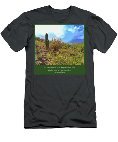 Men's T-Shirt (Athletic Fit) featuring the photograph Fruits Of Our Labor by Judy Kennedy