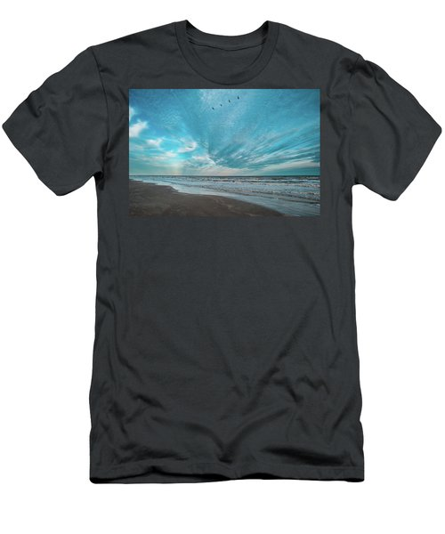 Galveston Island First Light Men's T-Shirt (Athletic Fit)