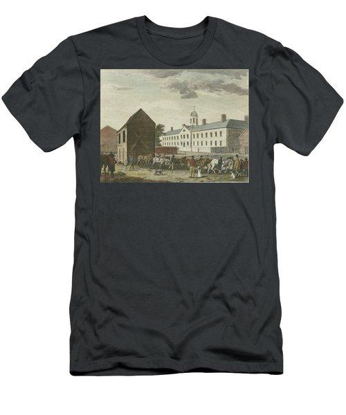 Gaol In Walnut Street Men's T-Shirt (Athletic Fit)