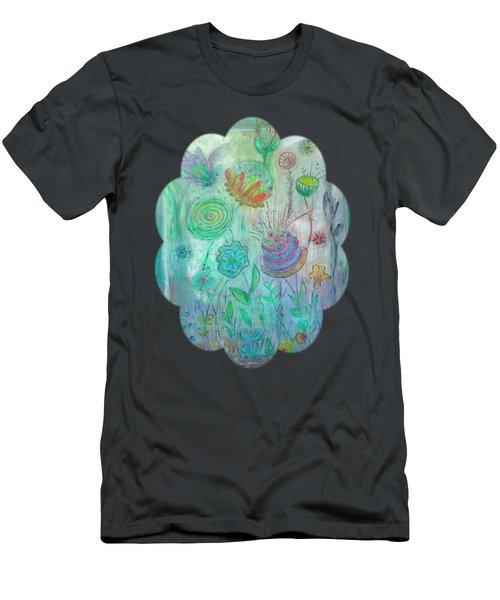 Garden View Men's T-Shirt (Athletic Fit)