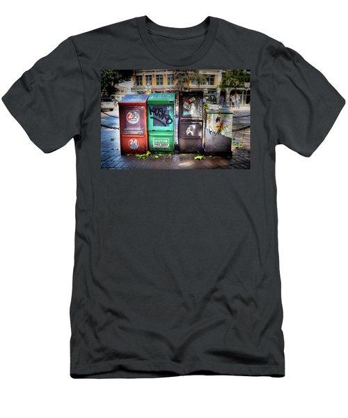 Gastown Street Newsstand Men's T-Shirt (Athletic Fit)