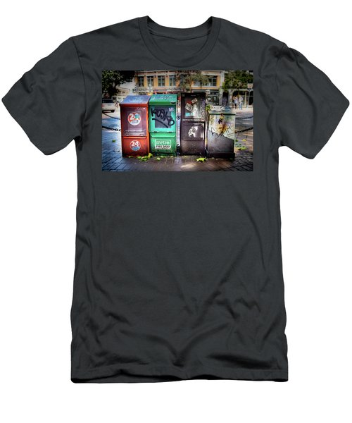 Gastown Street Newsstand Men's T-Shirt (Athletic Fit)
