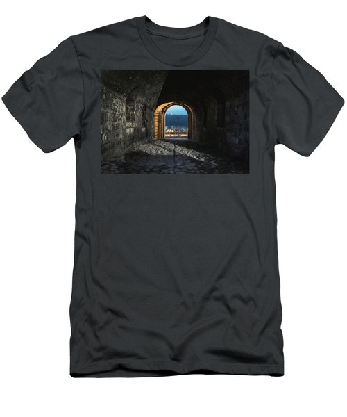 Gate At Kalemegdan Fortress, Belgrade Men's T-Shirt (Athletic Fit)