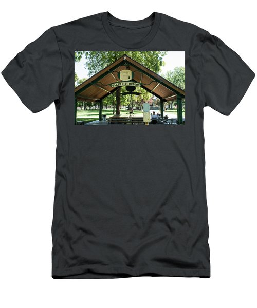 Geiser Pollman Park Shelter Men's T-Shirt (Athletic Fit)