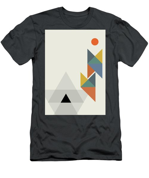 Geometric Painting 14 Men's T-Shirt (Athletic Fit)