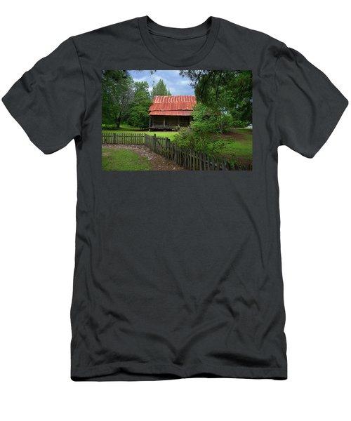 Georgia On My Mind Men's T-Shirt (Athletic Fit)