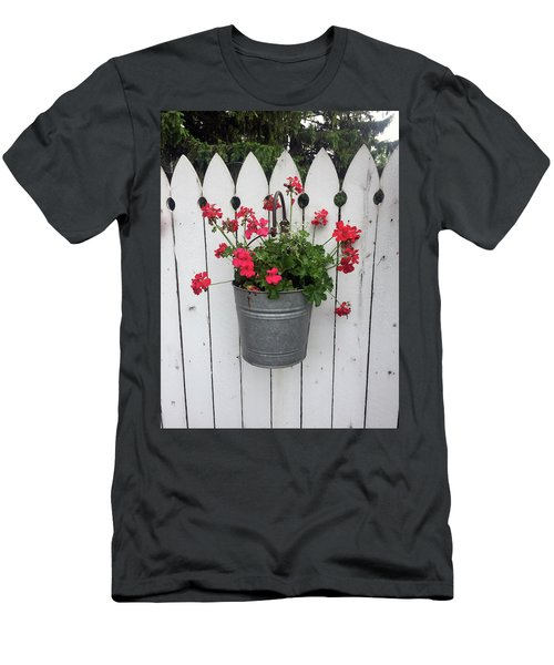 Geranium Gate Men's T-Shirt (Athletic Fit)