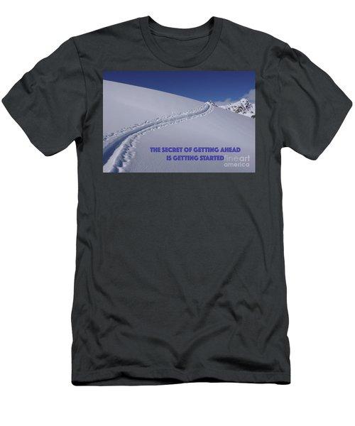 Getting Ahead II Men's T-Shirt (Athletic Fit)