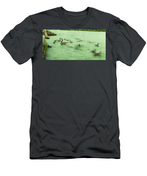 Ghost Ducks Men's T-Shirt (Athletic Fit)